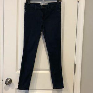 Abercrombie & Fitch Dark Wash Skinny Jeans 4S